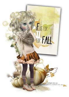 """""""F for Fall"""" by fashionista1864 ❤ liked on Polyvore featuring art"""