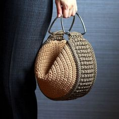 Crochet Motif, Knit Crochet, Crochet Patterns, Crochet Bag Tutorials, Crochet Projects, Crochet Handbags, Crochet Purses, Summer Bags, Knitted Bags