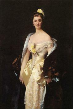 Caroline de Bassano, Marquise d'Espeuilles - John Singer Sargent