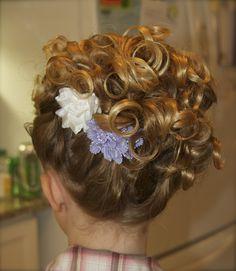 Flower Girl Updo Hairstyles | Flower Girls