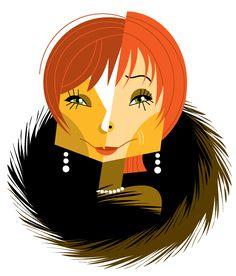 Portrait of Shirley Maclaine by Pablo Lobato