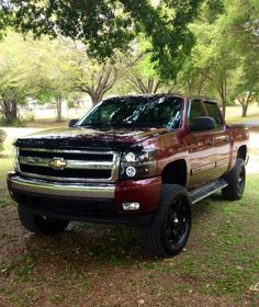 Lifted 2008 Chevy Silverado