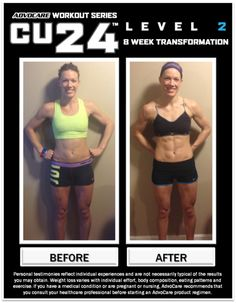 Check out this amazing CU24™ Level 2 transformation! This and more are available on the AdvoCare Tumblr page - www.webuildchampions.tumblr.com