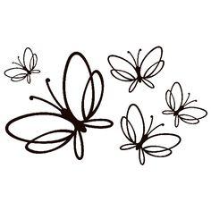 Adesivi Murali: Farfalle Noltea