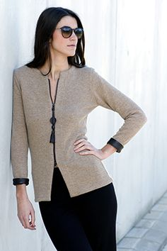 Elisa Cortés-Colección Elisa Cortés Sweaters, Fashion, Winter, Moda, Fashion Styles, Pullover, Sweater, Fashion Illustrations, Fashion Models