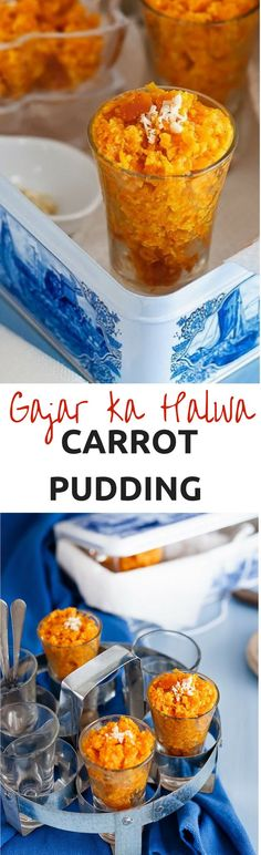 Gajar ka Halwa with Condensed Milk or Milk Maid. Often this Indian Carrot Pudding or Carrot Halwa is associated with Winter. Indian Desserts, Indian Sweets, Fish Recipes, Sweet Recipes, Recipies, Dessert Bars, Dessert Recipes, Carrot Pudding, Indian Pudding