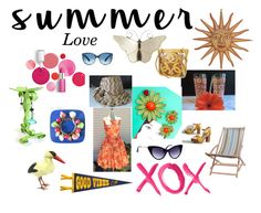 """Summer Love"" by ravishedheart on Polyvore featuring GALA, Clinique, Garden Trading, Chanel, Dot & Bo and vintage"