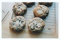 Best-Ever Thick and Chewy Chocolate Chunk Cookies | Shine Food - Yahoo! Shine