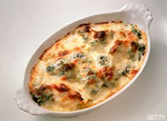 Cheese Vegetable Bake