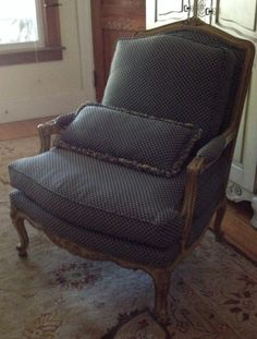 FOR SALE: Bergere chair. I have big plans for this beauty!