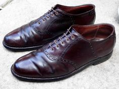ALDEN of NEW ENGLAND 997 Genuine Shell Cordovan Saddle Shoes size 9.5 D #Alden #Oxfords