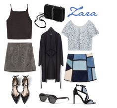 """""""All Zara"""" by ai0807 on Polyvore featuring ファッション, Zara, women's clothing, women, female, woman, misses と juniors"""