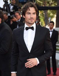 Ian in a tux is a sight to see!  Cannes 2015.