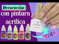 Nails Ivette - YouTube Manicure Y Pedicure, Gel Nails, Acrylic Gel, Nail Designs, Soap, Youtube, Beauty, Enamels, Amor