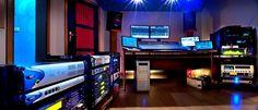 Recording Studio Home, Home Studio, Studio Gear, Places To Visit, Dj, Studios, Room, Music, Wall