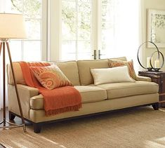 """$1899-$2999 Seabury Sofa* price depends solely on fabric choice *Sofa: 79"""" w x 41"""" d x 35"""" h Grand Sofa: 93"""" w x 41"""" d x 35"""" h Down-blend-wrapped cushions."""