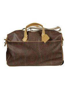 ETRO PAISLEY PRINT DUFFLE BAG. #etro #