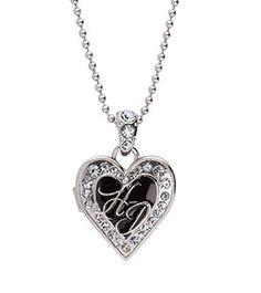 Harley-Davidson® | 97665-13VW | Harley-Davidson® Womens Heart Locket Necklace