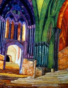 Cathedral - Tactile Architecture at the International Quilt Festival 2011