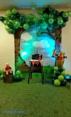 Winnie-the-Pooh Birthday Party Ideas | Photo 3 of 8 | Catch My Party