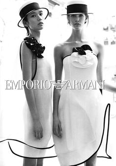 ▲ Style is all ▼: Emporio Armani Spring 2012 Campaign.