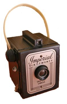 Imperial Six Twenty. Vintage camera.
