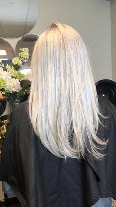 My hair/ Platinum