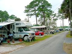 Fays RV Park Campground At Holiday Florida