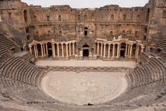 Roman Theatre in Bosra, Syria