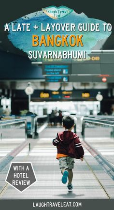 Are you arriving late, early, or need to do a layover at Bangkok Suvarnabhumi Airport? Heres a guide on transport and hotel recommendations #Suvarnabhumi #layover #bangkok #airoprt