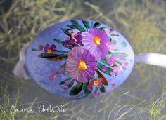 Ostereier - Das handbemalte Entenosterei - ein Designerstück von ArtWilk bei DaWanda