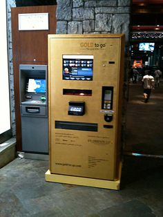 Someday I will have enough $$ to take out gold from a machine like this..