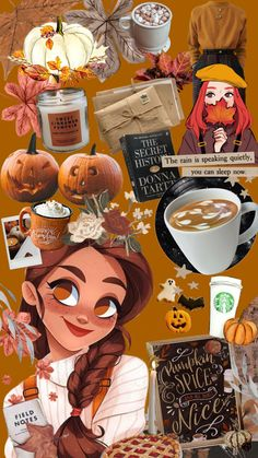 Autumn Aesthetic, Aesthetic Wallpapers, Iphone Wallpaper, Disney Characters, Fictional Characters, Disney Princess, Art, Art Background, Kunst