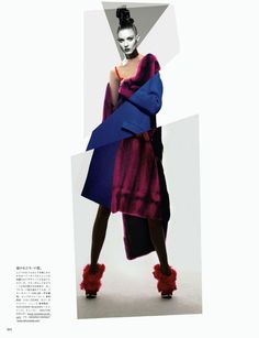 ORGANIC NEO-TECH | Kati Nescher | Solve Sundsbo #photography | VOGUE Japan October 2012 #mixed_media #collage