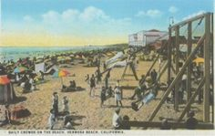 Old Hermosa Beach Postcard.