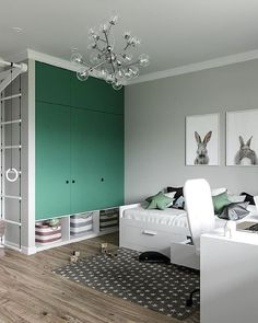 [New] The Best Home Decor (with Pictures) These are the 10 best home decor today. According to home decor experts, the 10 all-time best home decor. Boys Bedroom Wallpaper, Boys Bedroom Decor, Childrens Room Decor, Boy And Girl Shared Bedroom, Kids Room Paint, Baby Room Design, Green Rooms, Apartment Interior, New Room