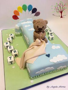 Albert's 1st Birthday by Blossom Dream Cakes - Angela Morris
