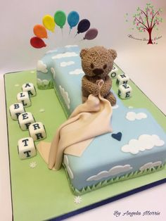 Albert's 1st Birthday by Blossom Dream Cakes - Angela Morris