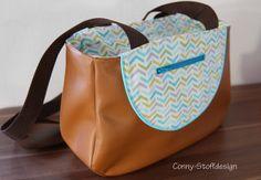 Conny-Stoffdesign: Schnabelina Bag Mini
