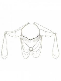 Pandora's Body Chain – Silver Vanessa Mooney, Pandora, Jewels, Chain, Silver, Style, Fashion, Accessories, Jewerly