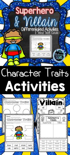 114 Best Superhero Activities For Kids Images On Pinterest