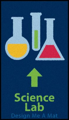 Science Lab Floor Mat Design