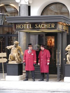 Vienna, Austria.- home of the famous sacher torte. Yum