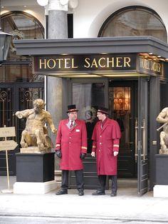 Vienna, Austria.- home of the famous sacher torte. Yum