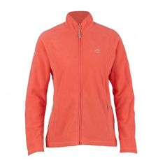 K-Way's Guinevere is a full-zip medium-weight women's fleece made from polyester microfibre with a double-sided anti-pill finish.