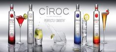 Ciroc. Perfectly smooth. True.