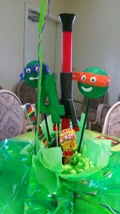 Ninja Turtles centerpieces