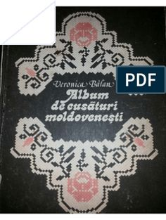 Album de Cusaturi Moldovenesti de Veronica Balan