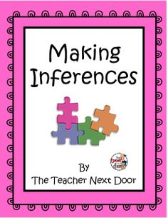 Blog post: Teaching inferences using informational text is super fun!