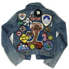 Custom Levi's Women Denim Jacket
